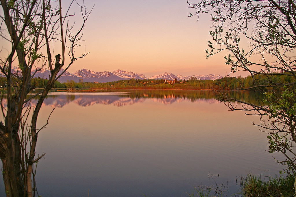 Alaska is filled with great scenery and this shot of Westchester Lagoon is right in the heart of Anchorage.