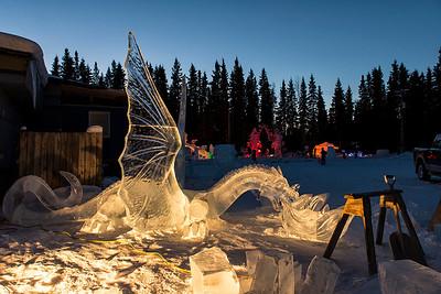 World Ice Art Championships. Fairbanks, 3/13/13