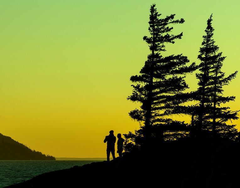 Beluga Point Sunset