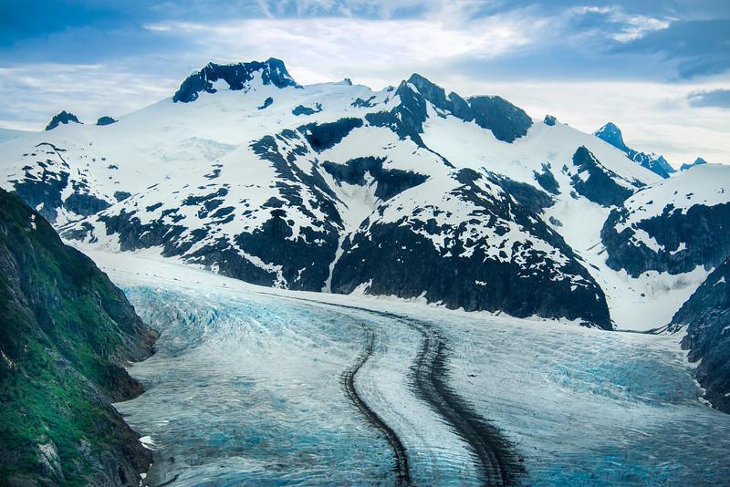 Herbert Glacier, near Juneau Alaska
