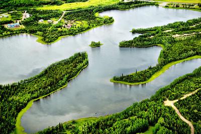 Lake, near Denali National Park, AK