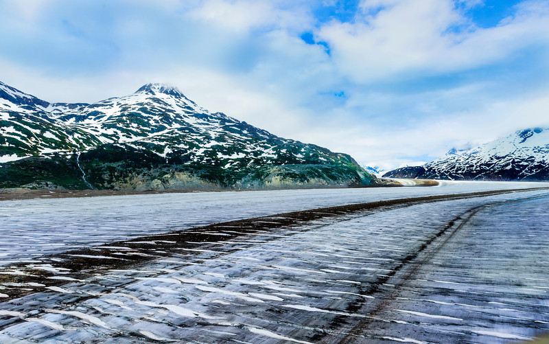 Meade Glacier, near Skagway Alaska