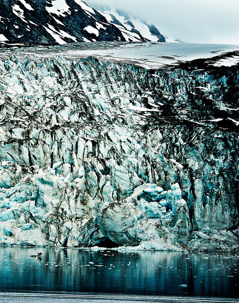 Margerie Glacier, end of Glacier Bay, Alaska