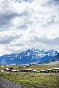 Alaska Pipeline, Dalton Highway, Alaska