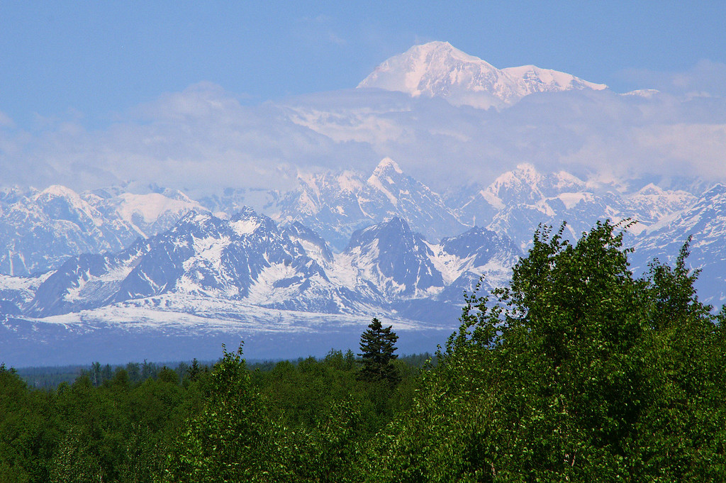 Used to Colorado Mountains and plenty of 14ers I must say when I saw Denali for the first time I was incredibly impressed.