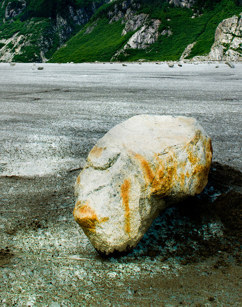 Meade Glacier near Skagway Alaska