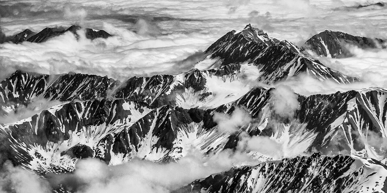 Parts of the Alaska Range, Denali National Park
