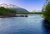 Alaska, Chugach National Forest, Seward Highway, Sunrise Landscape, 阿拉斯加 风景