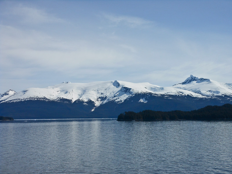 the Endicott Arm of the Tracy Arms Fjords