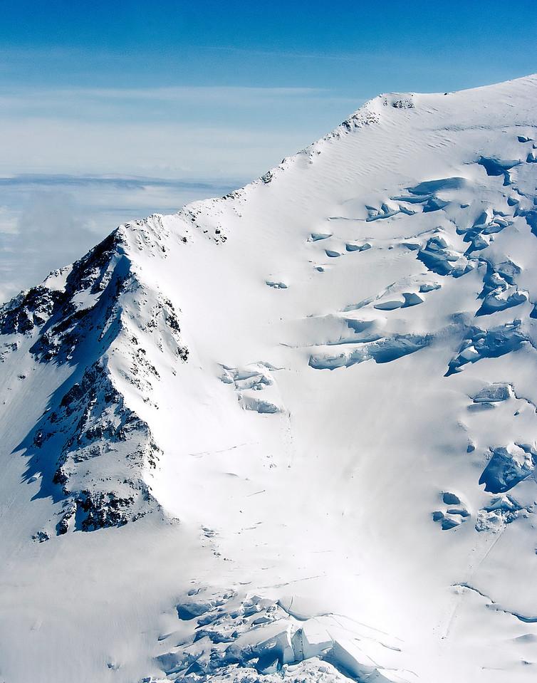 Side of Mt McKinley, (Denali), Denali National Park, Alaska