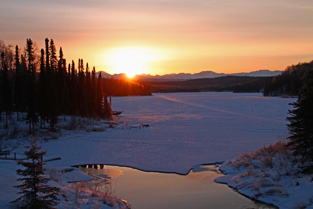 Fish Lake Sunrise