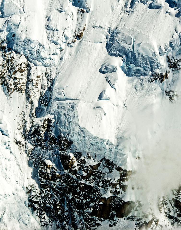 Detail of Mt McKinley