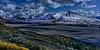 McKinley River and the Alaska Range