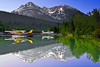 Alaska, Bear Lake, Chugach National Forest, Seward, Reflection Landscape, 阿拉斯加加 风景