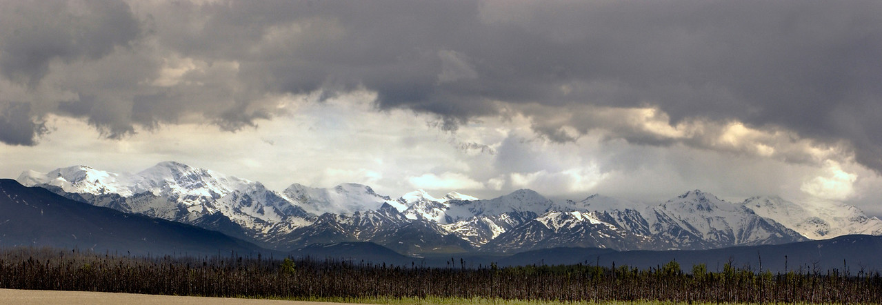 Alaska Range near Delta Junction, Ak