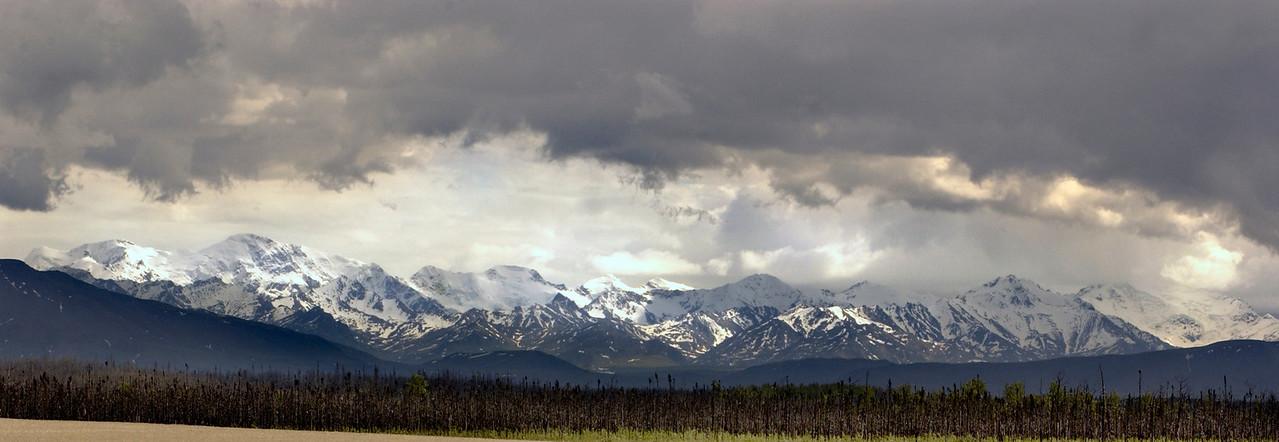 Alaska Range near Delta Junction, Ak