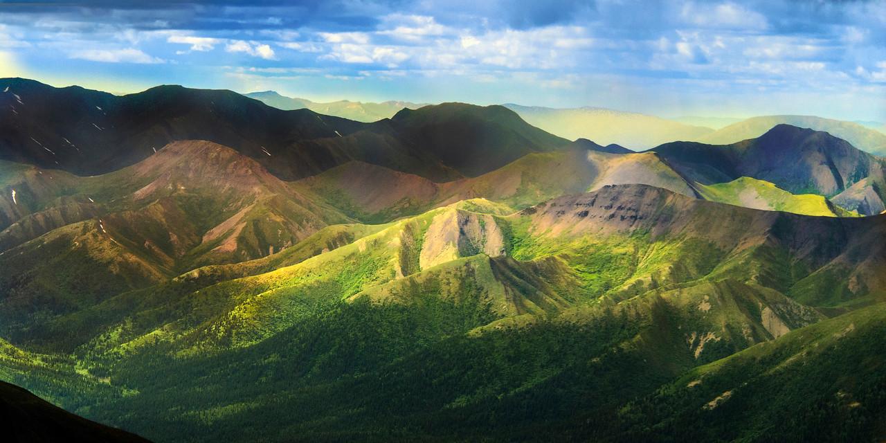 Mountains near Nenali National Park