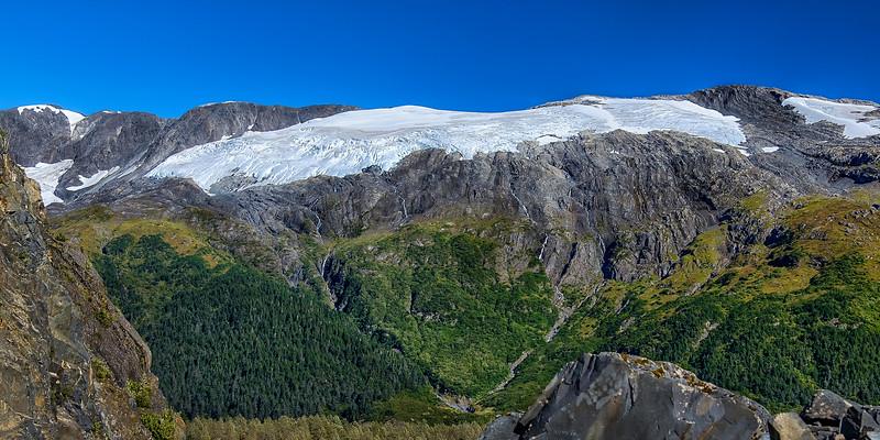 Chugach Mountains near Whittier AK