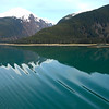 loved the silky green water in the Fjord
