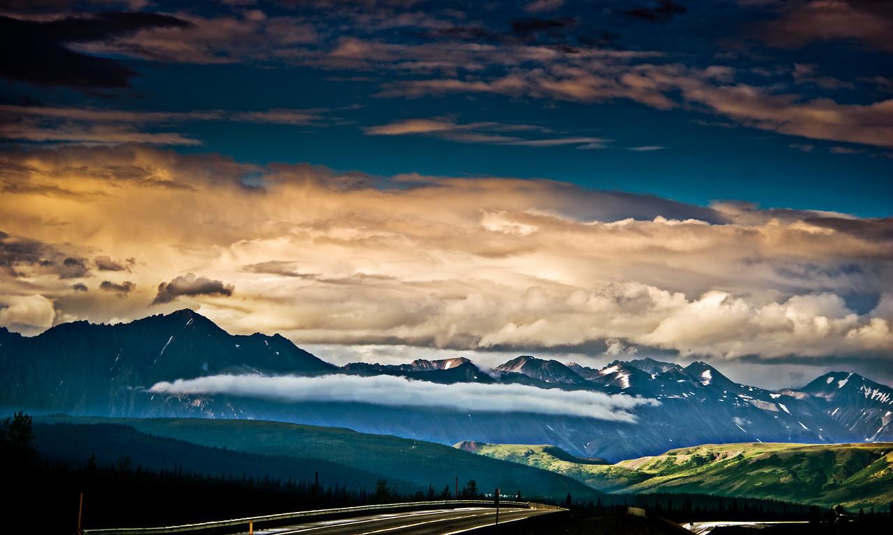 Rt 3, George Parks Highway, near Denali National Park, Alaska