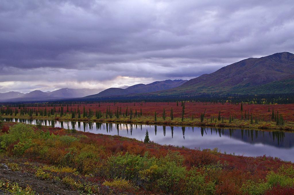 Summit Lake, Alaska.