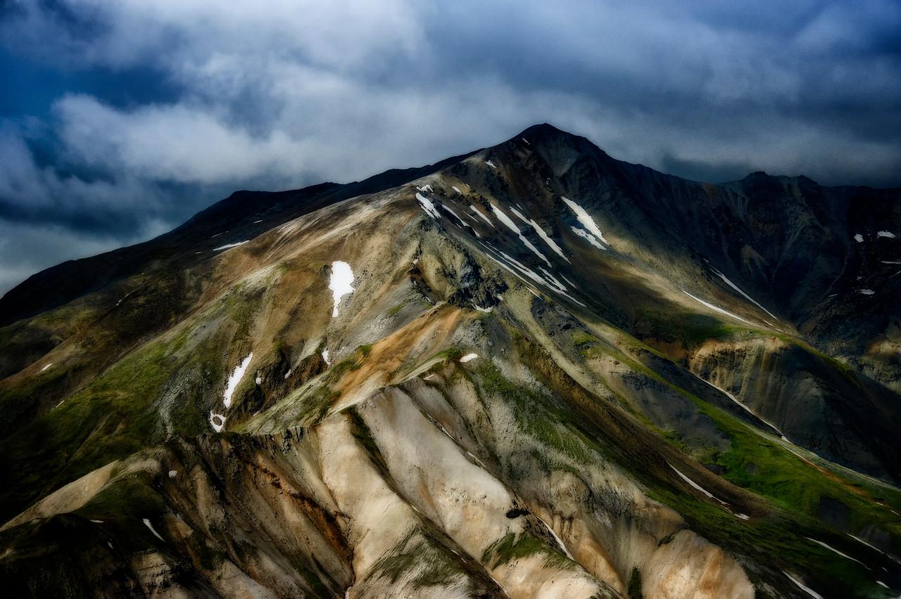 Unnamed mountain peak in Denali