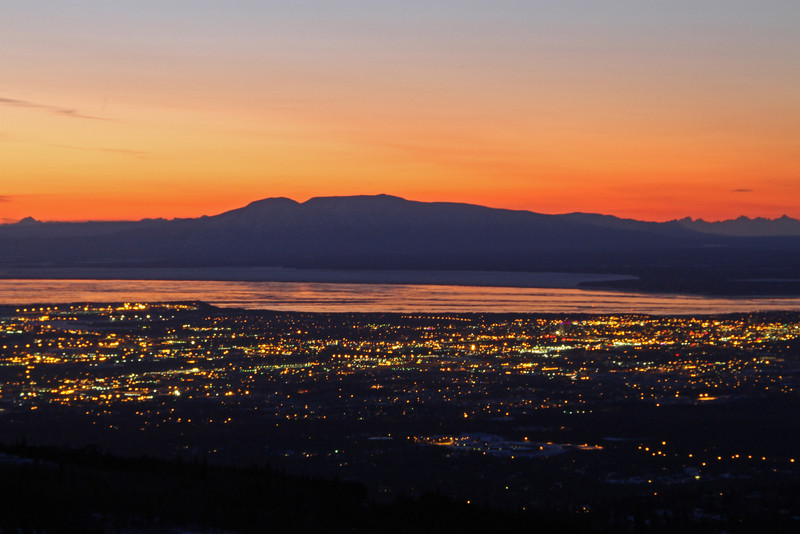 Anchorage at Dusk