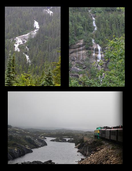 White Pass & Yukon Route via train ride