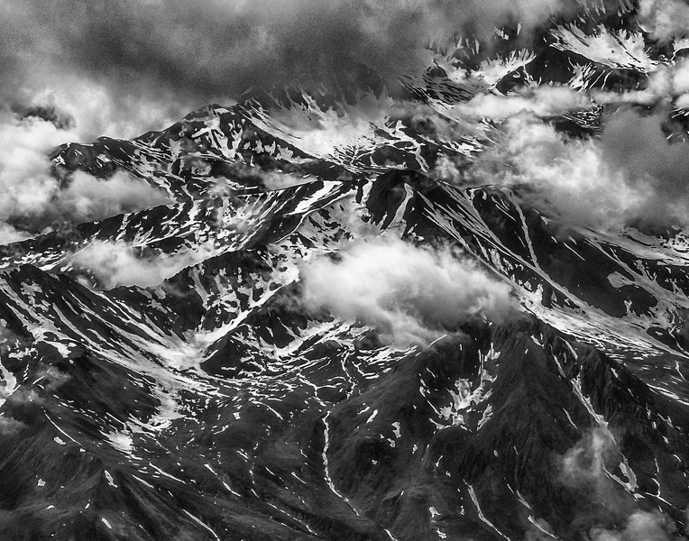 A cold bleak terrain opens up to a brief reprise of warmth during the short months of summer- Denali National Park July 2012