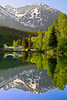 Alaska, Bear Lake, Chugach National Forest, Seward, Reflection Landscape,  阿拉斯加 风景