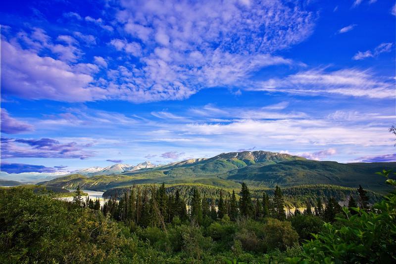 Alaska,  Wrangell-St Elias National Park Landscape, 阿拉斯加,  兰格尔圣伊莱亚斯国家公园 风景