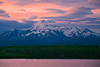 Alaska, Sunset, Wrangell-St Elias National Park, Midnight, Landscape, 阿拉斯加,国家公园,午夜, 风景