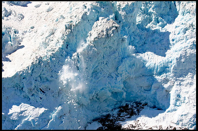 Calving Ice at Aialik Glacier