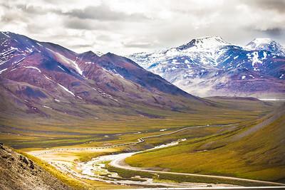 Atigun Pass, Dalton Highway, Alaska