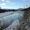 river, ice and snow, Alaska