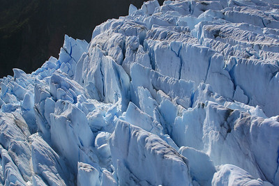 Crevasses, Mendenhall Glacier
