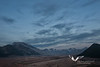 August 2011. Katmai National Park, Valley of 10,000 Smokes. Nightfall in the Valley.