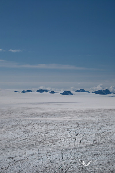 August 2011. Harding Ice Field.