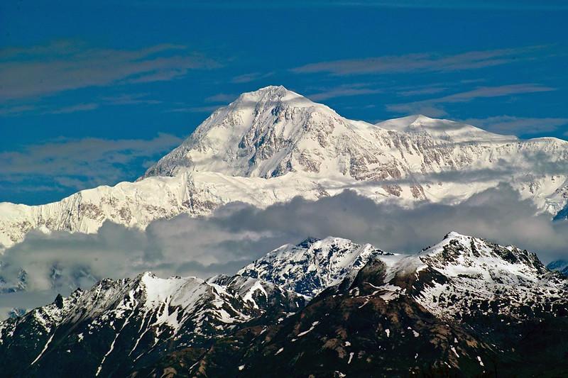 Close up of Mt McKinley