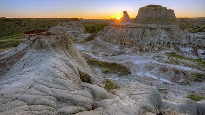 Badlands Park, near Brooks, Alberta
