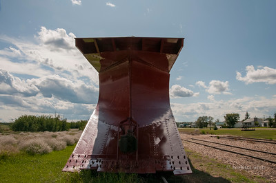 CN Snow Plow,Big Valley,
