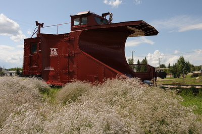 Big Valley, CN Snow Plow