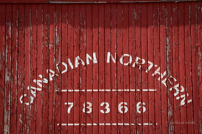 Canadian Northern Railway Caboose