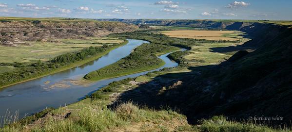 Red Deer River Valley looking south east
