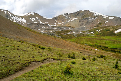 Skyline Trail, Backpacking, July 2008