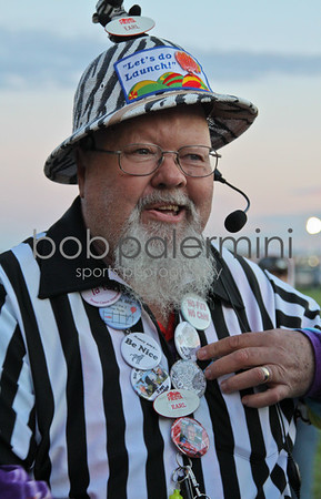 Zebras (named for their black & white striped shirts) are the field launch directors.