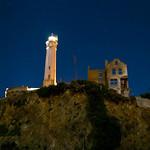 Moon Alcatraz cliffs