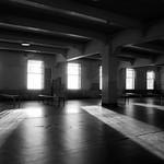 Alcatraz BW floor Bars windows