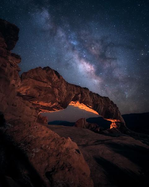 Sunset Arch Starscape