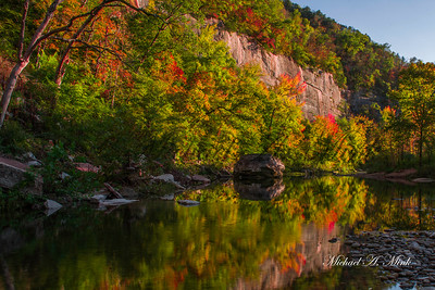 Buffalo River Reflection